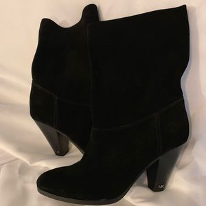 New Michael Kors boots soft suede